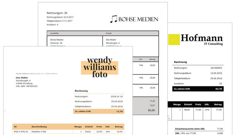 Rechnungsprogramme Vs Word Und Excel Was Ist Besser