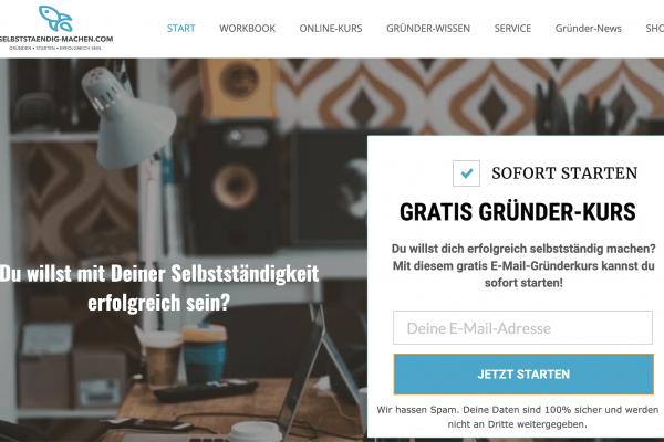 selbststaendig machen.com1  600x400 - Website kaufen