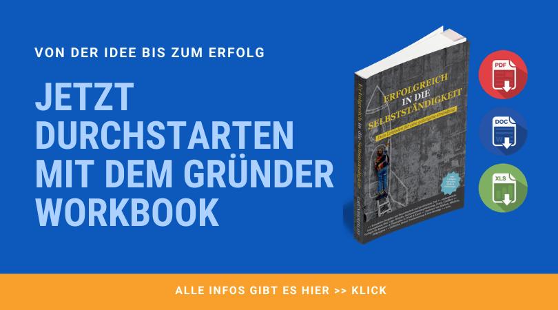 Gruender Workbook1 - Existenzgründung München