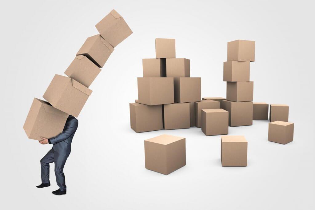 Kisten 1024x683 - Lieferkette im Start-Up Unternehmen – deswegen kann sich eine eigene Logistikabteilung lohnen